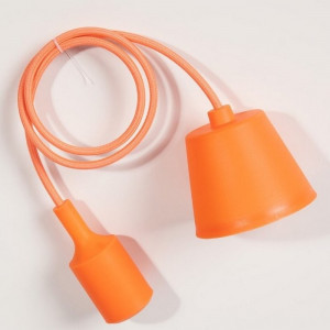 Suspension silicone orange E27