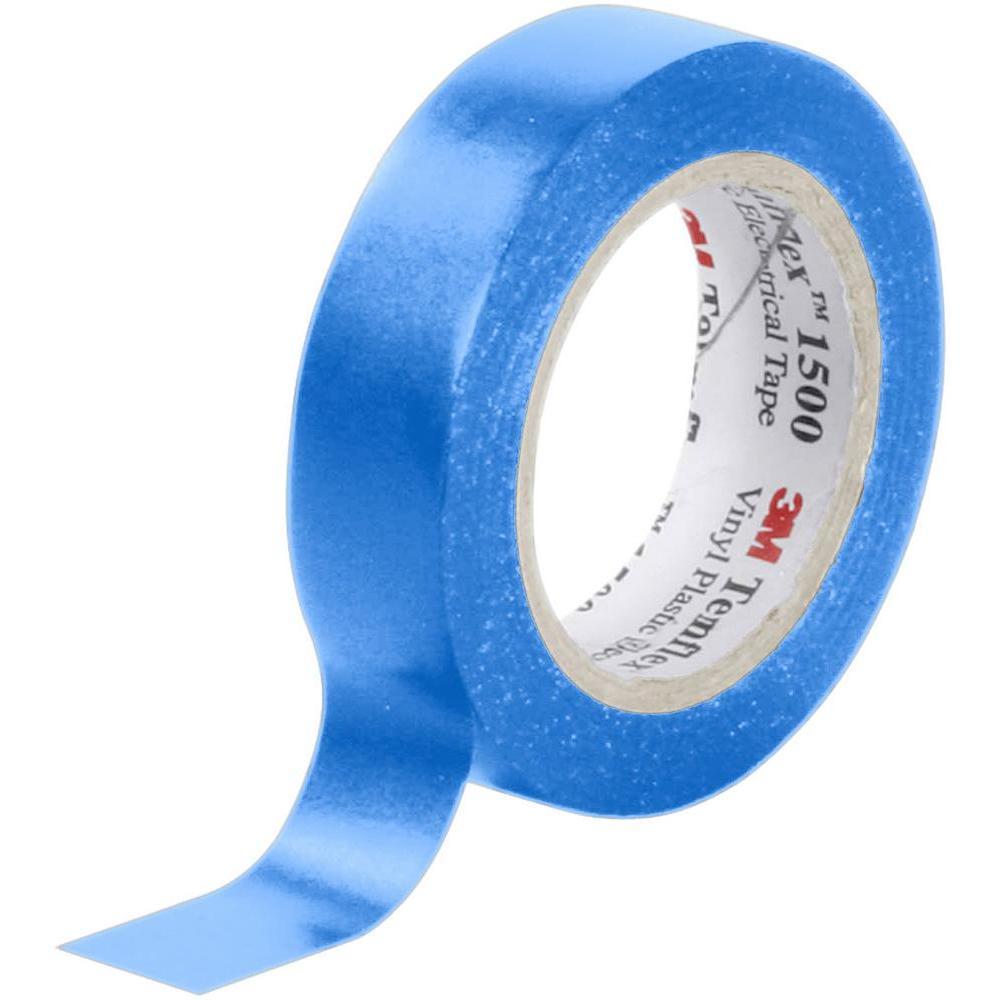 Ruban adhésif isolant bleu