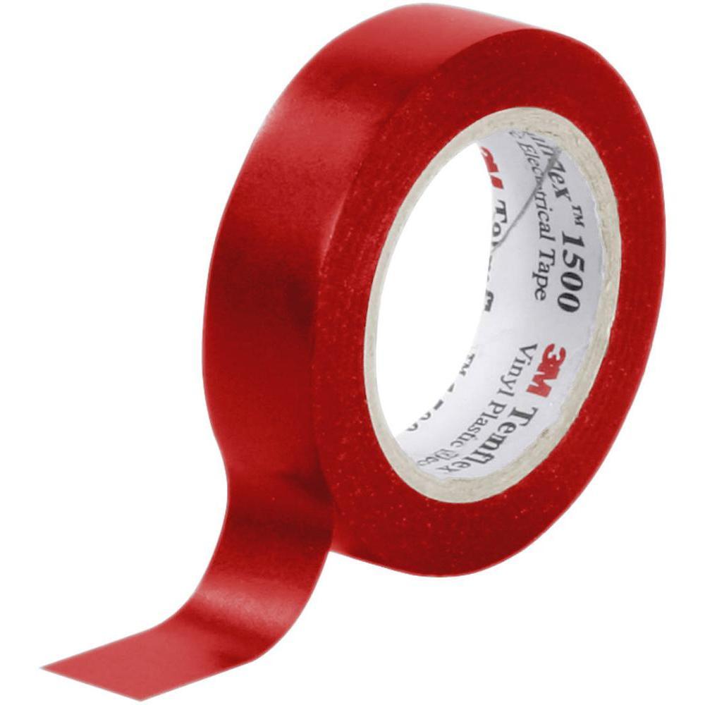 Ruban adhésif isolant rouge