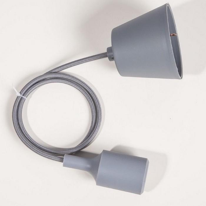 Suspension silicone gris