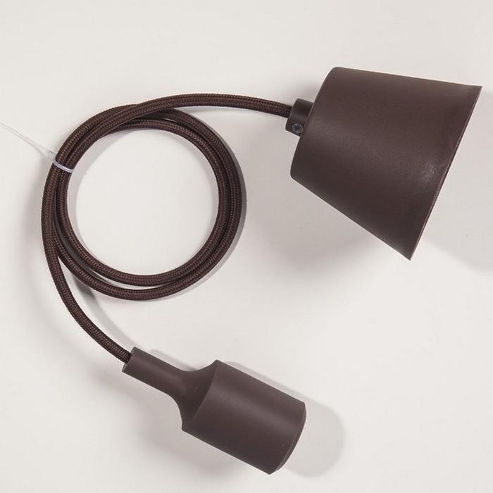 Suspension silicone marron