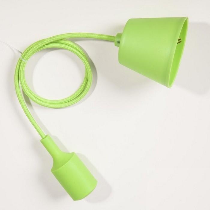 Suspension silicone vert