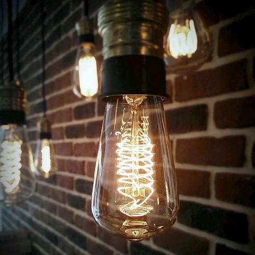 Ampoule déco vintage Jackson 48mm, 60W, E27