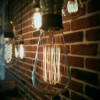 Ampoule déco vintage Cleveland 64mm, 40W, E27