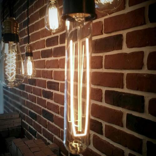 Ampoule déco vintage Knoxville, 185mm, 40W E27
