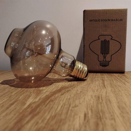 Ampoule déco vintage Chicago 60W, E27