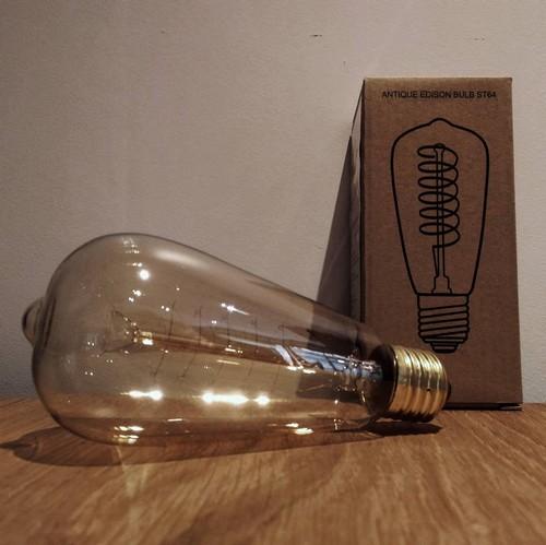 Ampoule déco vintage Jackson 64mm, 60W, E27
