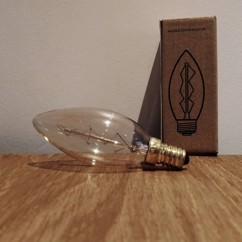 Ampoule déco vintage Boston 40W, E14