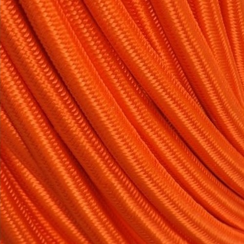 Câble textile orange