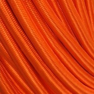 Câble textile orange