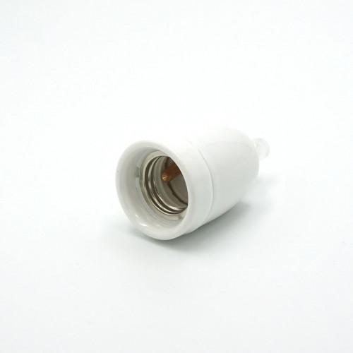 Douille porcelaine blanche E27