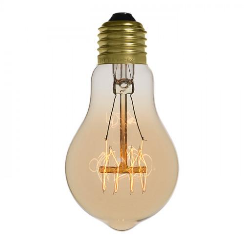 ampoule 40 watts filament vintage. Black Bedroom Furniture Sets. Home Design Ideas