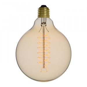Ampoule déco vintage Atlanta 125mm 40W, E27