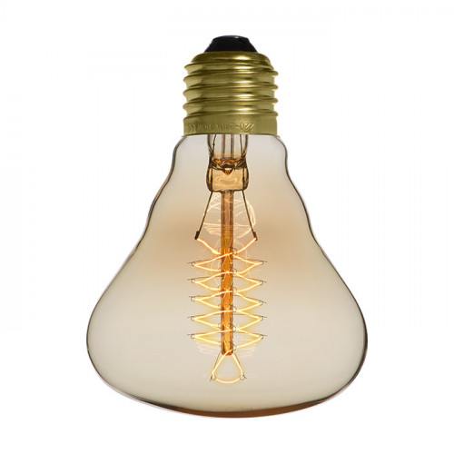 Ampoule déco vintage Houston 80mm, 40W, E27