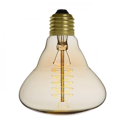 Ampoule déco vintage Houston 95mm, 40W, E27