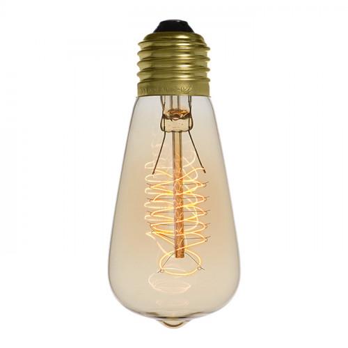 Ampoule déco vintage Jackson 48mm, 40W, E27