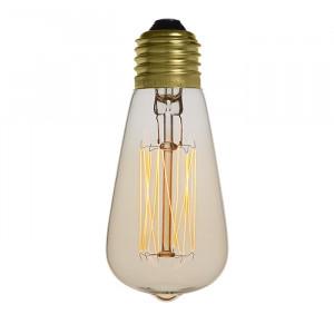 Ampoule déco vintage Cleveland 48mm, 40W, E27