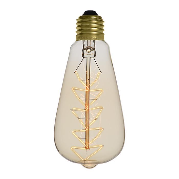 Ampoule déco vintage Lexington 40W, E27