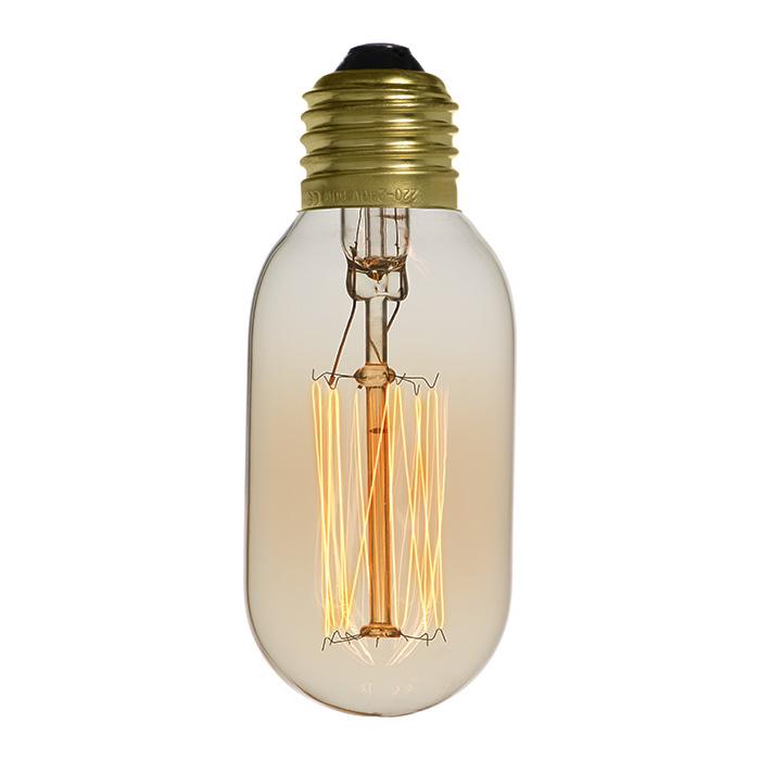 Ampoule déco vintage New-Orleans 40W, E27