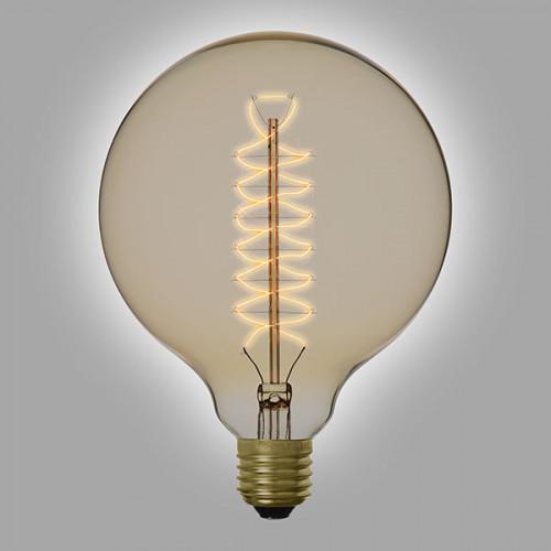 Ampoule déco vintage Atlanta 125mm 60W, E27