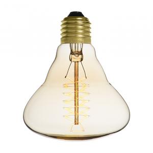 Ampoule déco vintage Houston 95mm, 60W, E27