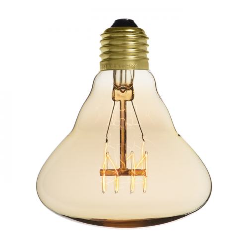 Ampoule déco vintage Dallas 95mm, 60W, E27