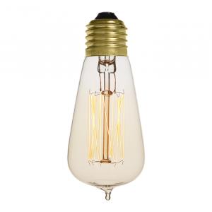 Ampoule déco vintage Cleveland 48mm, 60W, E27