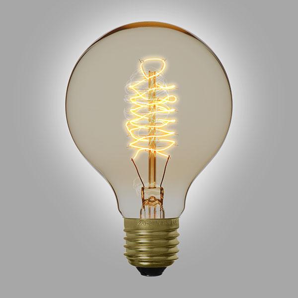 ampoule filament vintage g80a. Black Bedroom Furniture Sets. Home Design Ideas