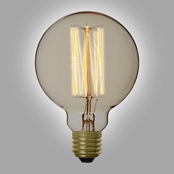 ampoule filament vintage g95a 40 watts. Black Bedroom Furniture Sets. Home Design Ideas
