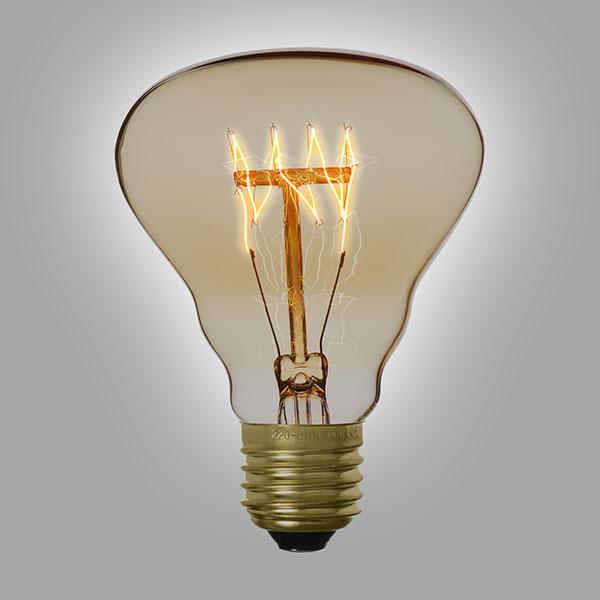 ampoule filament vintage r80. Black Bedroom Furniture Sets. Home Design Ideas