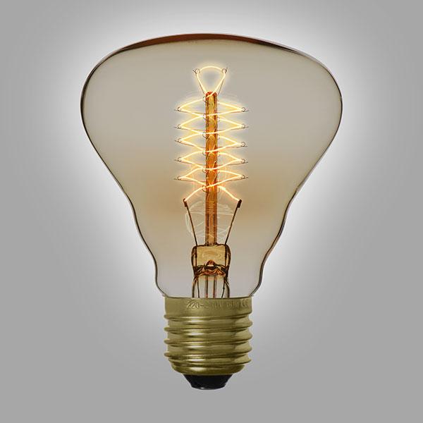 ampoule filament vintage r80a. Black Bedroom Furniture Sets. Home Design Ideas