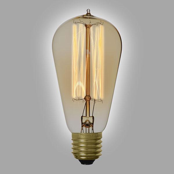 ampoule filament vintage st58a. Black Bedroom Furniture Sets. Home Design Ideas