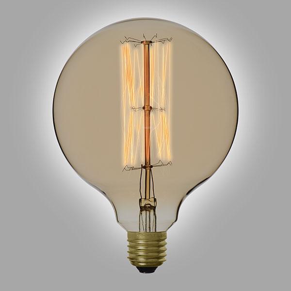 ampoule filament vintage g125. Black Bedroom Furniture Sets. Home Design Ideas