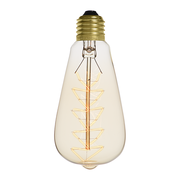 Ampoule déco vintage Lexington 60W, E27