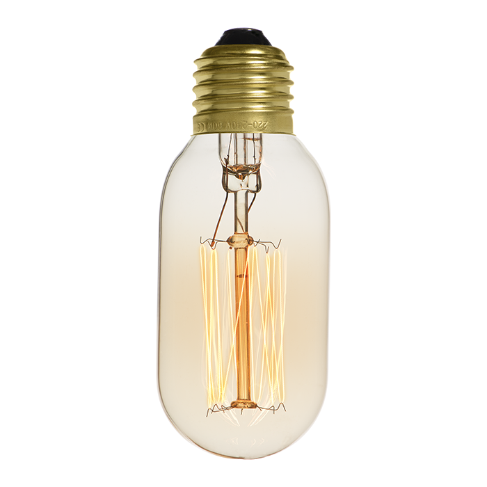 Ampoule déco vintage New-Orleans 60W, E27