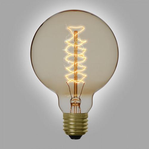 Ampoule déco vintage Atlanta 95mm, 40W, E27