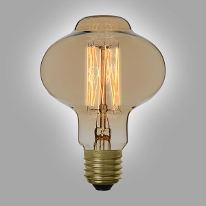 Ampoule déco vintage Chicago 40W, E27