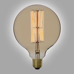 Ampoule déco vintage Portland 125mm, 60W, E27