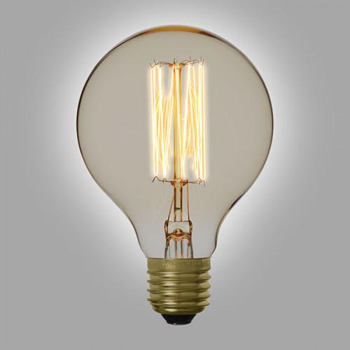 Ampoule déco vintage Portland 80mm, 60W, E27