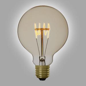 Ampoule déco vintage Memphis 95mm, 60W, E27