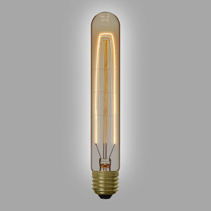 Ampoule déco vintage Knoxville, 185mm, 60W E27