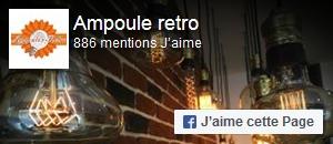 Aimer Ampoule Retro sur facebook